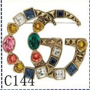 New Luxury Brooches Charm Designers for Women Brooch gûccì Fashion Diamond Love Brooches Pins Custom Jewelry