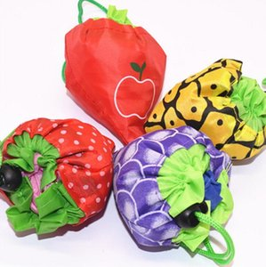 fruit eco shopping bag Grocery Bag Reusable Strawberry Storage Handbag Foldable Shopping Bags Travel Tote H256 05