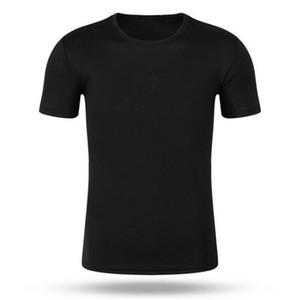 Herren-Polohemd 2019 neue Sommer-Kurzschluss-Hülsen-Turn-over Kragen dünne beiläufigen Breathable Solid Color Business-Hemd-Oberseiten 002