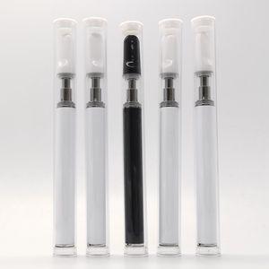 Custom Logo Disposable Vape Pen 0.5ml Th205 Carts Ceramic Coil Glass Tank 350mAh Battery Ceramic Tips 150-200 Puffs Huge Vapor E-cigarettes