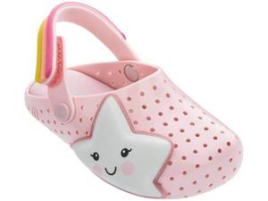 2020melissa Melisa Sandals and Luminous slippers children's sandals jelly shoes Children's rocket luminous stars beach slippers batch