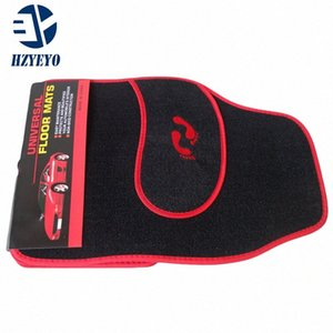 HZYEYO Universal Car foot mat for auto anti slip mat , free shipping, left-steering ONLY! 3 Color Car Floor Mat, T1003 F13c#