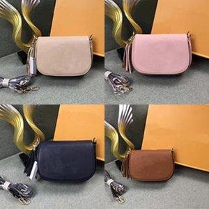 Fashion Women Shoulder Bag Ladies Tassel Messenger Handbag Mobile Phone Coin Purse Bag Female Bucket Drawstring Crossbody ~#343