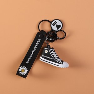 BQ Web celebrity Quan Zhilong with Fashion Bag the same style Daisy shoes key chain pendant cartoon fashion bag pendant