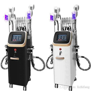 mise en forme puissante équipement de beauté RF corps de la machine de cavitation Cryolipolysis laser froid machine de machine de 4 poignées
