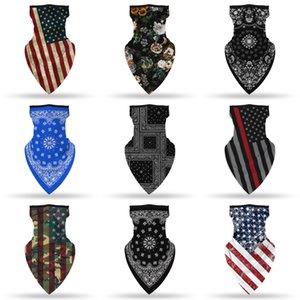 Ветрозащитные печати Маски для лица Рта Er Балаклавы Банданов шеи Головных уборов Gaiter Магия шарфы Headbands Велоспорт мотоциклы P # Qa4 # 734 # 734
