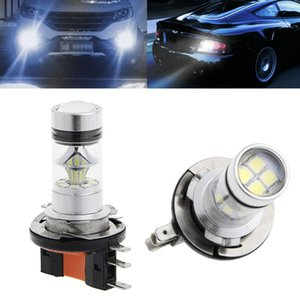 Car-Styling 1Pc H15 100W 2323 SMD LED Car Fog Light Driving Bulb Brake Stop Lamp Headlight Fog Lamps for led bar