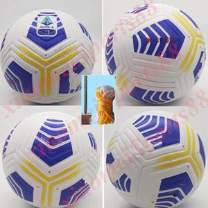 Nuevo 20 21 Club de la Serie A de la Liga Partido de fútbol bola 2020 2021 tamaño de bolas 5 gránulos antideslizantes envío gratuito de fútbol bal alta calidad