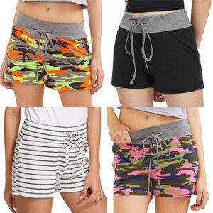 Summer Shorts Women Maternity Cotton Shorts Over-The-Belly Elastic Waist Clothes Patchwork High Stretch Slim Comfortable Lady#7611