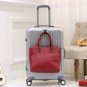mGSLG 보편적 인 바퀴 여행 가죽 가방 여성 가방 탑승 암호 드래그 상자 20 인치의 작은 24/28 남자의 트롤리 케이스 트롤리 케이스 조수