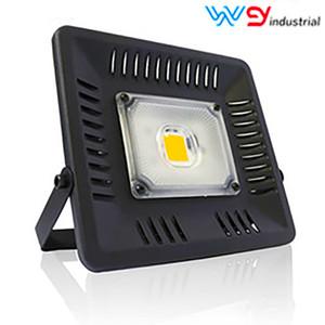 Tam Spektrum LED Büyüme Sel Light'ın 400-850nm Su geçirmez 50W 100W 150W 100W 150W COB Ultra İnce Lambaları büyütün Açık Bitkiler için Grow Işık