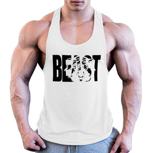 Brand Bodybuilding Stringer Tank Tops Mens Sportwear Vest Fitness Men Gyms sleeveless shirts Superhero Superman Muscle singlets