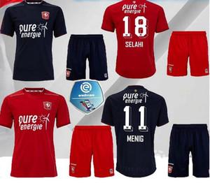 adult kids 2020 2021 Twente Enschede FC home red Menig soccer jerseys 20 21 red Menig Selahi ABURJANIA men child football shirts shorts