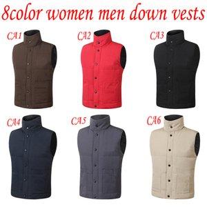 Mens Vest Down Jacket Men Women Casual Down Coats Canada Winter Jacket Mens Outdoor Warm Parkas Mens Winter Coats