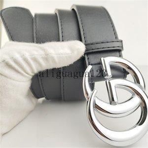 2020 Women's designer belt Brown Red Wide Faux Pu Leather Belt Female Fashion Waist Belts for Women BeltsLvS with box