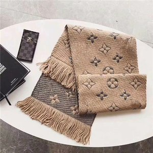 2020 fashion autumn winter size 180*30cm wool print shawl mens and womens tassel design style scarves wholesale