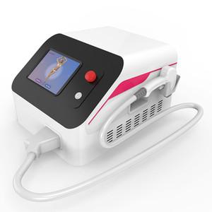 Hottest Depilator Permanente portátil 808nm diodo Laser Hair Removal máquina Dor cabelo gratuito de remoção de pele Resurfacing Laser Spa Salon Use