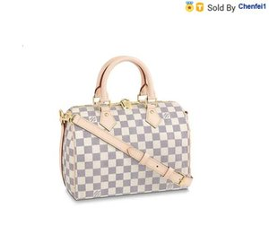 chenfei1 4J4Z N41374 Speedy Bandoulire 25 Women HANDBAGS ICONIC BAGS TOP HANDLES SHOULDER BAGS TOTES CROSS BODY BAG CLUTCHES EVENING