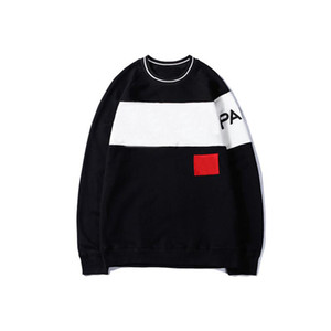 20fw Sweat à capuche Sweather for Men Automne Pullovers Pull Sweat-shirt avec lettres Fashion Mens Sweaters Vêtements S-2XL-