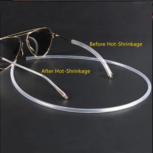 Metal Gözlükler bacak alerjik koruyucu Daralan tüp Kapak Optik Mağaza Gözlük Aksesuarları Kulak-Koruma freeshippin gözlük