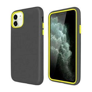 3 en 1 caso del defensor de color para el iPhone 12 11 Pro max 6 7 8 más XS XS XR Max Mate armadura hybird CASO Samsung S10 S20 S20 Ultra S20Plus