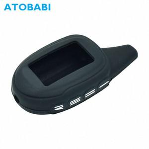 ATOBABI M7 Silicone Case Shell Key peau de couverture pour Scher Khan Magicar 7 8 9 12 M101AS Russie Version Two Way LCD voiture d'alarme à distance jXj9 de #