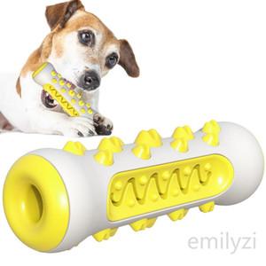 Cepillo de dientes molares perro juguetes para masticar limpieza de los dientes Segura Elasticidad TPR suave cachorro Dental Care extra-duras Suministros de limpieza de juguetes para mascotas
