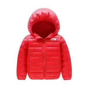 2020 bambini di marca nord Cappotti Ragazzo e ragazza inverno caldo cappotto incappucciato dei bambini Cotton-Padded Down Jacket Kid Giacche 4-12 anni