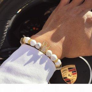 H Royal Natural Matte Agate Stone Beaded Handmade Healing Energy Wrist Bracelet For Men And Women Medium