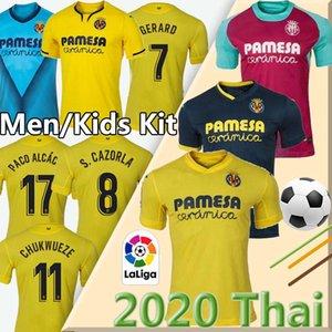 2021 Villarreal CF S.CAZORLA Fußballjerseys 19/20 Heim CHUKWUEZE FORNALS wegfußballJerseysfußball Hemd PEDRAZA MORENO Ekambi IBORRA 3. Fußball-Uniform