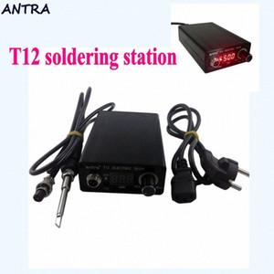 Zu T12 Lötstation Elektronischer Schweiß Eisen Automatische Schlaf automatisches Standby Thermostatsteuerung STC-T12 L1115 NqXX #