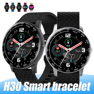Новый смарт-часы H30 Bluetooth HD Full Screen SmartWatch с шагомер камера Mic Compaitable Android PK DZ09 U8 с розничной коробкой