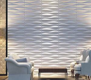 Kapalı duvar decorationdiffuser karo pvc 3d duvar paneli tasarımı panelwaterproof hiçbir kötü koku 3D Difüzyon duvar