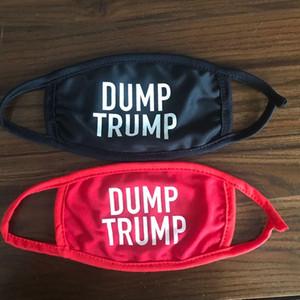 MAGA Dump Trump Designer mascarilla wiederverwendbare Gesichtsmaske Trump Wiederverwendbare Designer Facemask Schwarz Lives Matter Adult Mode Masken Maske