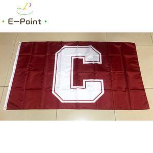 Drapeau de la NCAA Cornell Big Red Flag Nouvellement polyester * 3 pieds 5 pi (150cm * 90cm) Drapeau décoration bannière de vol jardin maison cadeaux en plein air
