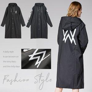 UIYGF Mode-Markenkleid Regenmantel Aller Walker gedruckt Modemarke Paar Kleider Windjacke Regenmantel Windjacke Aller Walker cou gedruckt