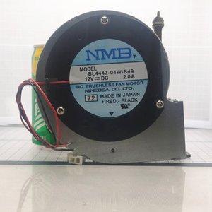 Para NMB BL4447-04W-B49 11028 12V 2A turbina 2wire armação de metal do Ventilador