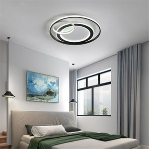 Simple round master bedroom ceiling lamp Nordic modern creative ceiling lamp children's room sleep warm eye protection soft light RW304