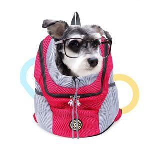 Портативный Pet Dog Cat рюкзак дышащий путешествия мешок шнурок собака Перевозчик Коттедж дорожные сумки падение корабля
