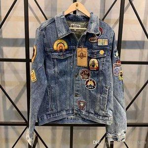 2020 Mens Designer Jackets Winter Jacket Fashion Men Women Denim Jacket Casual Hip Hop Designer Jacket Mens Clothing Size M-4xl
