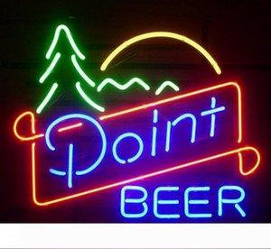 NUOVO PUNTO vera birra VETRO luce al neon della barra della birra insegne al neon personalizzare il colore Rosso Blu Verde Bianco Giallo Arancione Bianco Rosa Turchese C1
