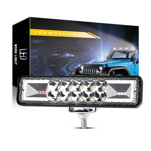 Winsun voiture LED Light Work 6 pouces 16LED clignotant gauche et droite Feux de jour Phares Lumières Modified