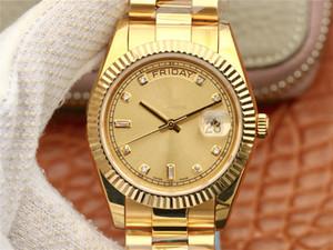 дизайнерские часы золотые часы наручные часы золотые часы алмазов часы 2020 High CR 3255 еженедельный календарь показывает 904L п