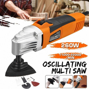 Renovator Multi Tools Electric Multifunction Oscillating Tool Kit Woodworking Cutter Power Tool Electric Trimmer Saw Sanding HhfM#