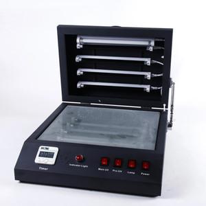 Nuovo in cristallo uv macchina da stampa fotografica digitale di cristallo di trattamento UV macchina nera UV Unità di esposizione