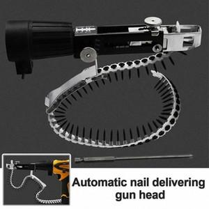 Con viti legno Chain Tool Nail Power Adapter per trapano in acciaio inox automatico elettrica domestica professionale E262 #