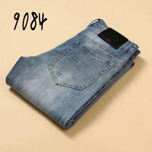 9084 VER11QR8 AJ-JEANS 2020 spring summer Pants Thin pant trousers Stretch jeans cotton business casual trousers slacks