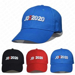 Diseño Trump Joe Biden 2020 Bola Hat USA Cartas gorras de béisbol de verano Adultos sombreros de los casquillos del visera del casquillo al aire libre Deportes enarboló sombreros D7701