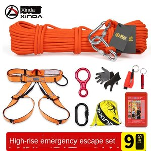 Xinda high-rise fire retarder life safety escape rope safety rope fire escape survival kit