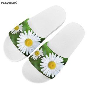 Floral Design Daisy 3D Femmes Chaussons Été Accueil Chaussures Casual Chaussures Filp Flop Antiderapant de Chambre Plage Slipper